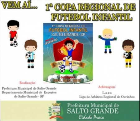 1ª Copa Regional de Futebol Infantil