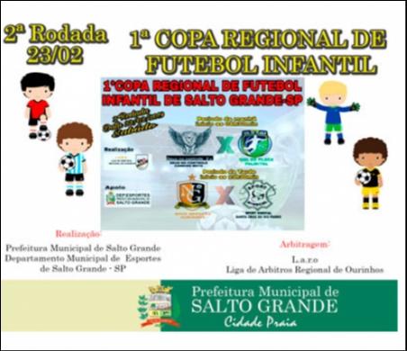 2ª Rodada da Copa Regional de Futebol Infantil