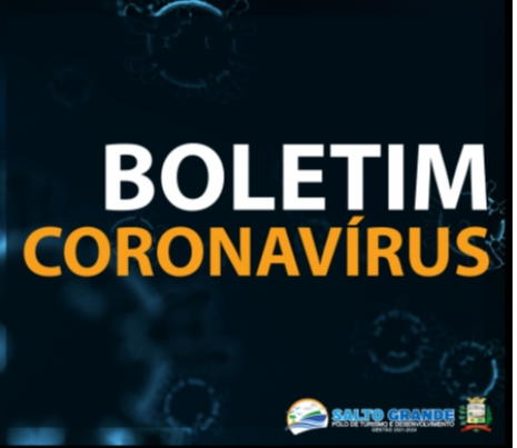 BOLETIM CORONAVÍRUS 11/01/2021 - ÀS 22H