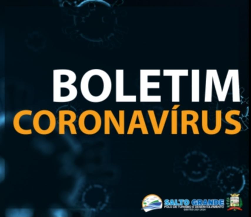 BOLETIM CORONAVÍRUS 13/01/2021 - ÀS 22H