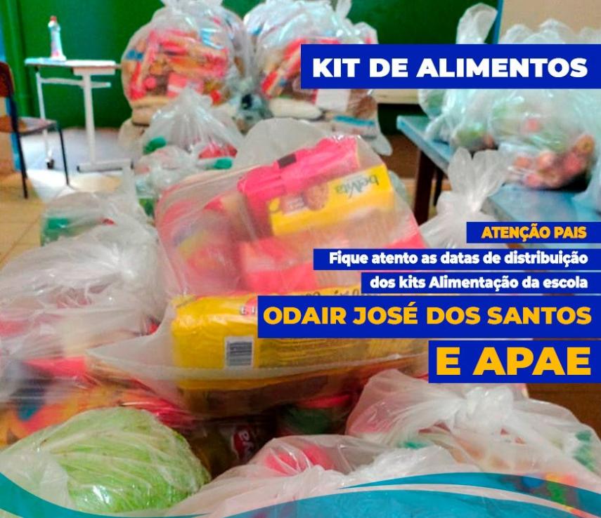 Distribuição dos Kits de Alimentação
