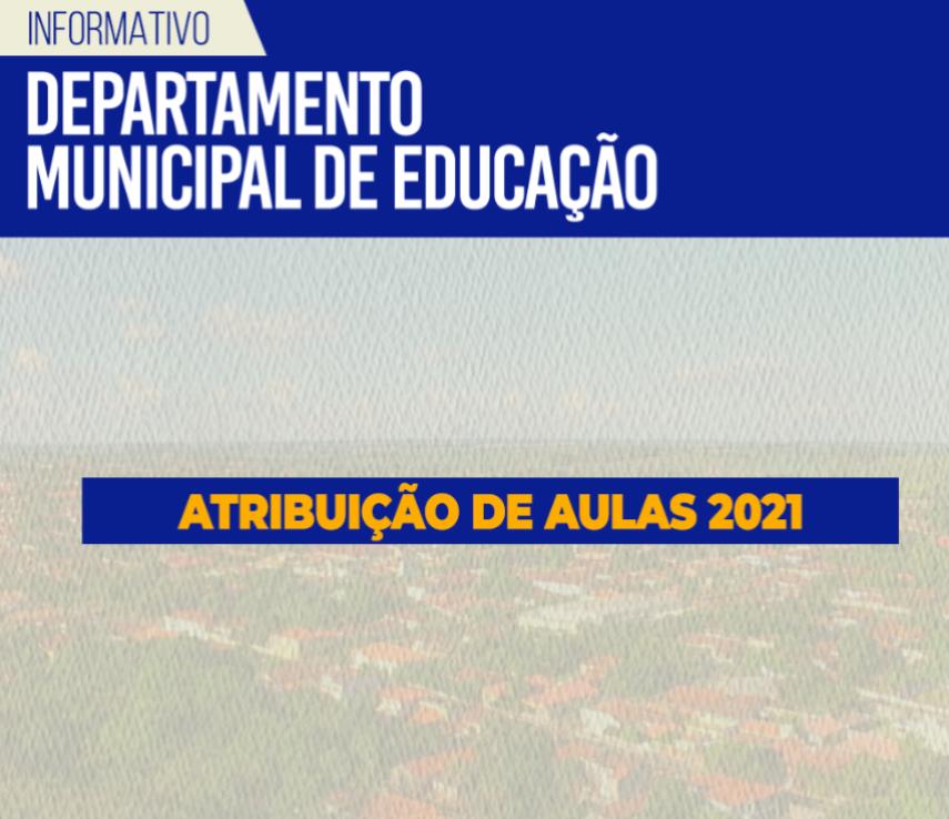 EDITAL PARA ATRIBUIÇÃO DE AULAS