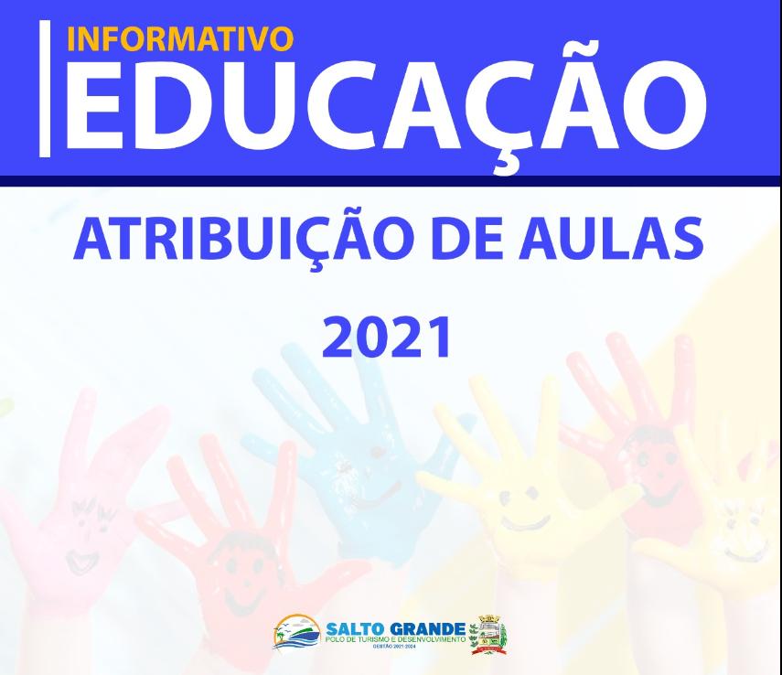 INFORMATIVO EDUCAÇÃO - 11/01/2021