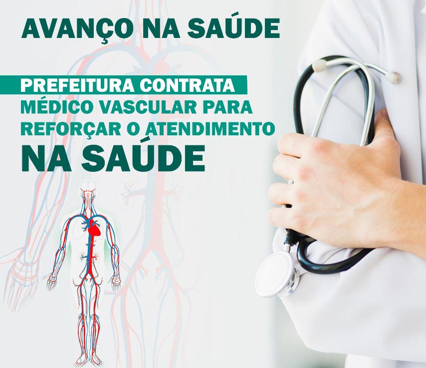 Prefeitura de Salto Grande Contrata médico vascular